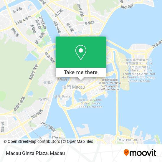 Macau Ginza Plaza map