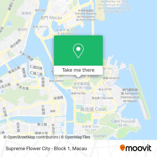 Supreme Flower City - Block 1 map