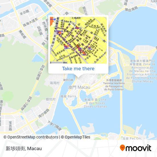 新埗頭街 map