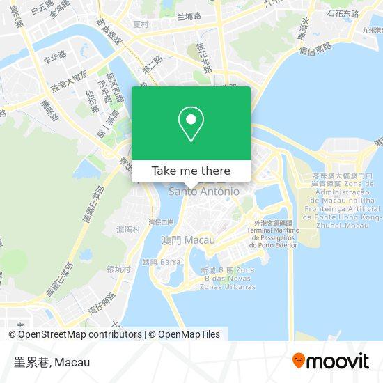 罣累巷 map