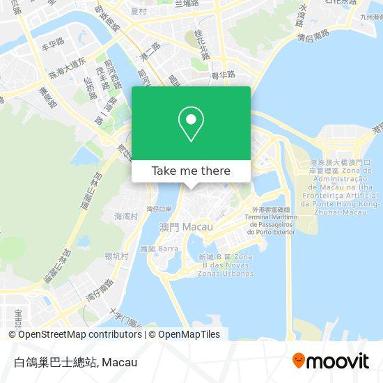 白鴿巢巴士總站 map