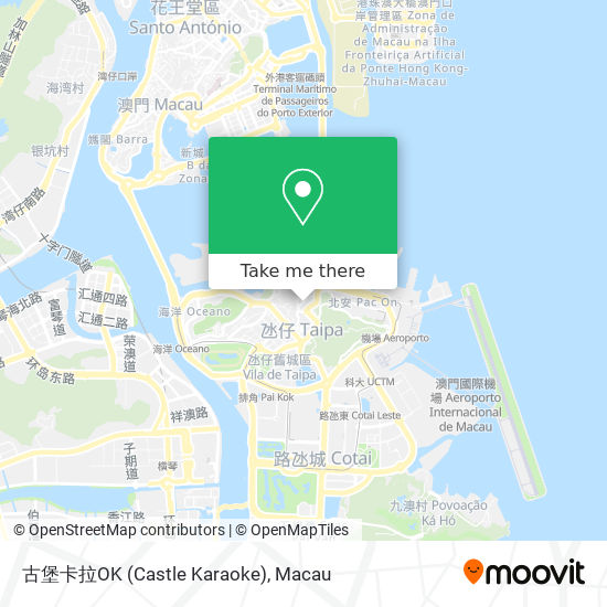 古堡卡拉OK (Castle Karaoke) map