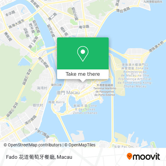 Fado 花道葡萄牙餐廳 map