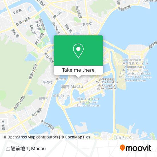 金龍前地 1 map