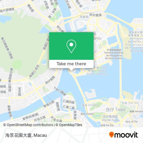 海景花園大廈 map