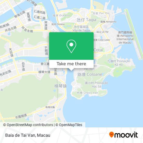 Baía de Tai Van map