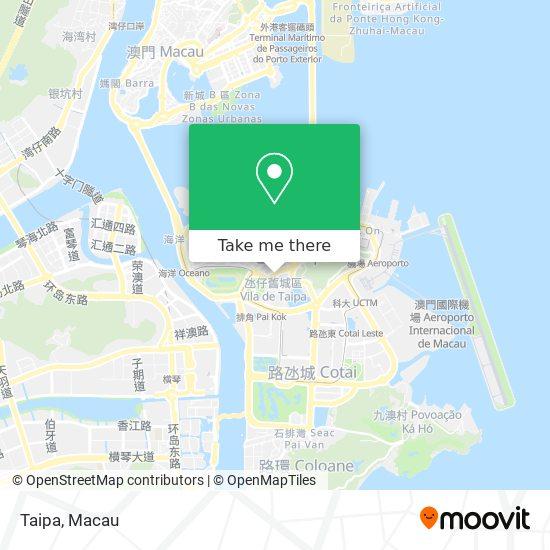 Taipa map