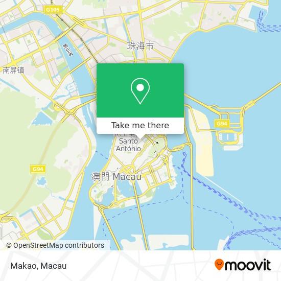 Makao map