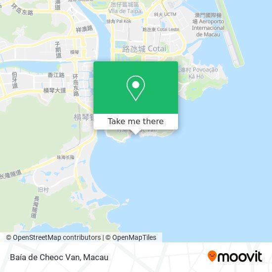 Baía de Cheoc Van map