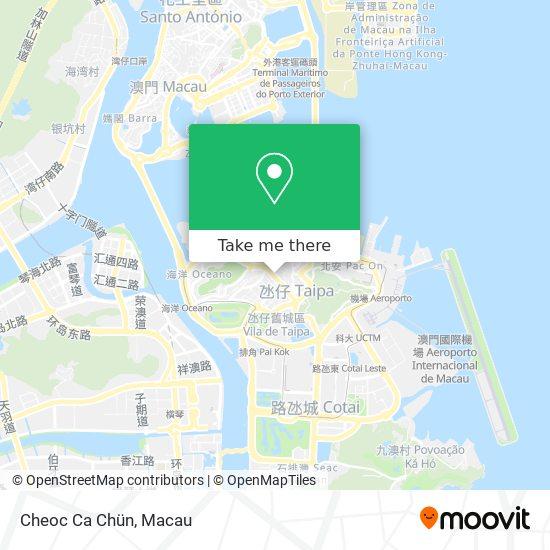 Cheoc Ca Chün map