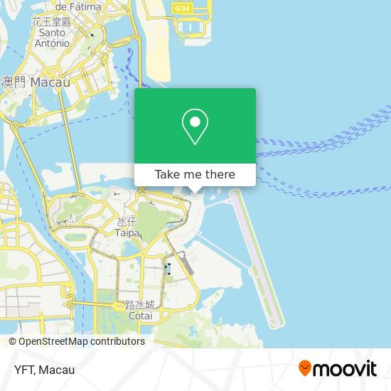 YFT map