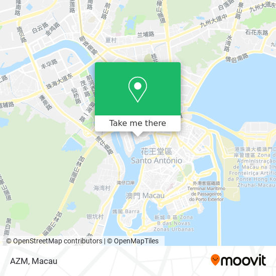 AZM map