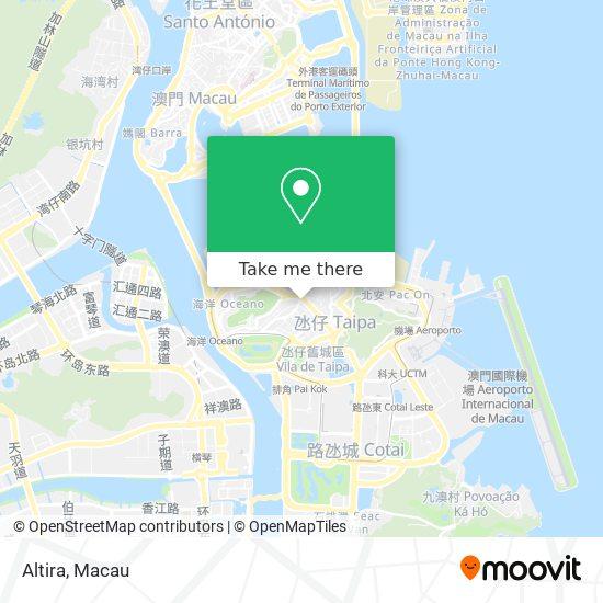 Altira map