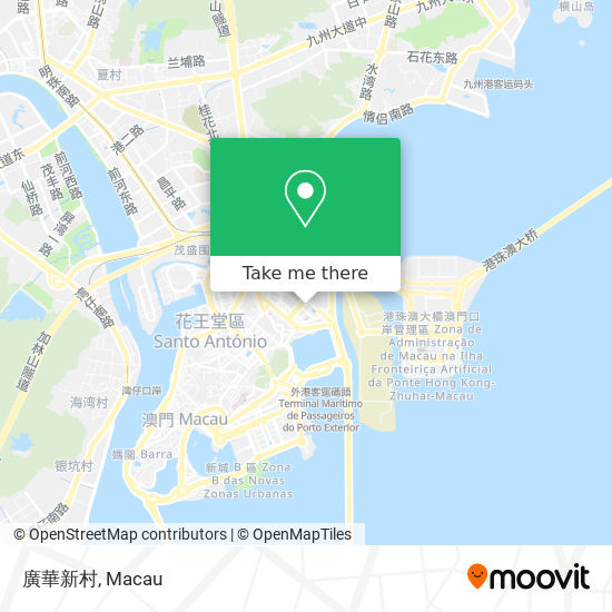廣華新村 map