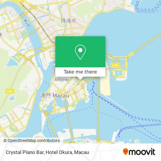 Crystal Piano Bar, Hotel Okura map