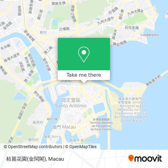 栢麗花園(金閩閣) map