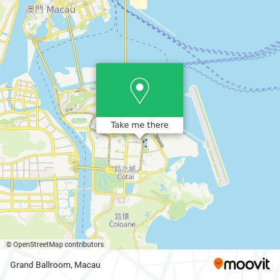 Grand Ballroom map
