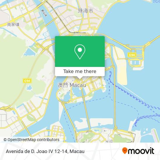 Avenida de D. Joao IV 12-14 map