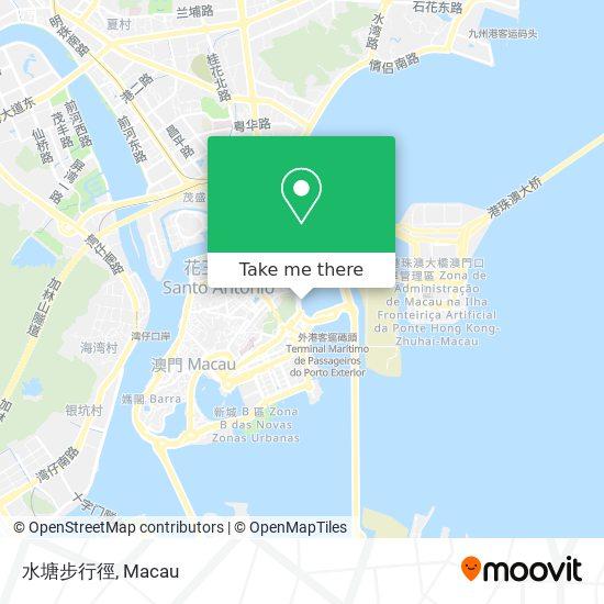 水塘步行徑 map