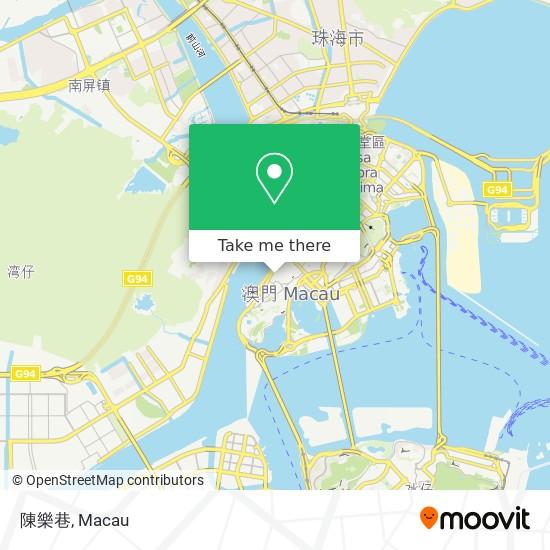 陳樂巷 map