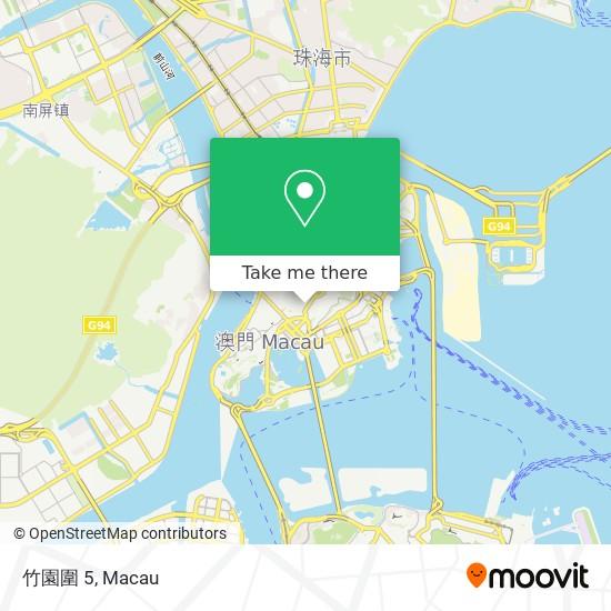 竹園圍 5 map
