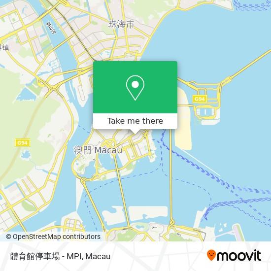 體育館停車場 - MPI map