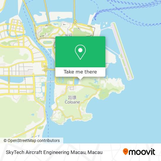 SkyTech Aircraft Engineering Macau map