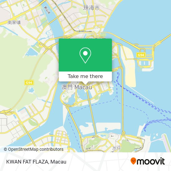 KWAN FAT FLAZA map