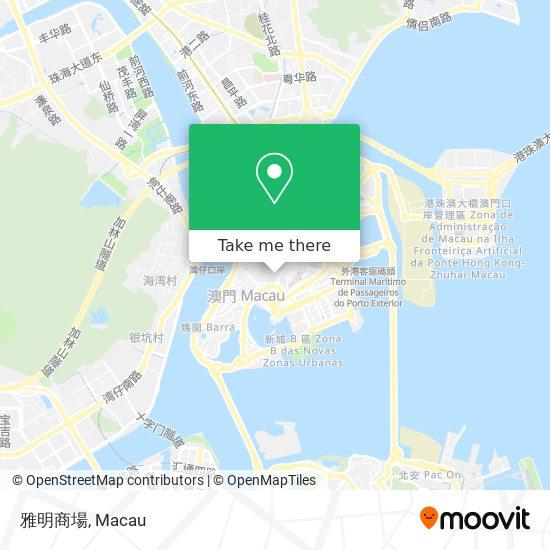 雅明商場 map