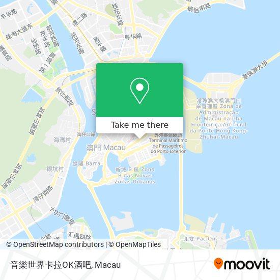 音樂世界卡拉OK酒吧 map