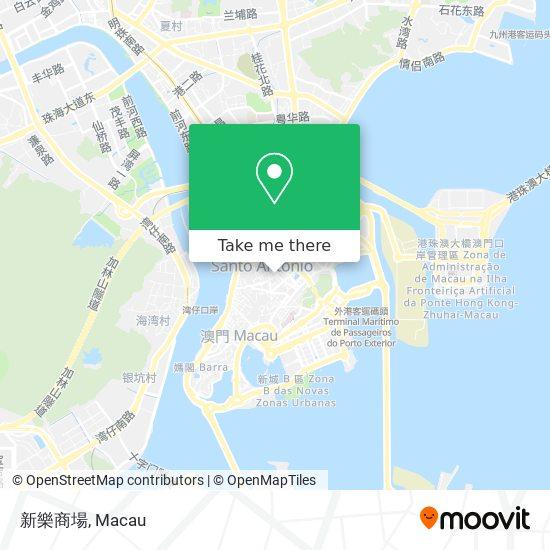 新樂商場 map