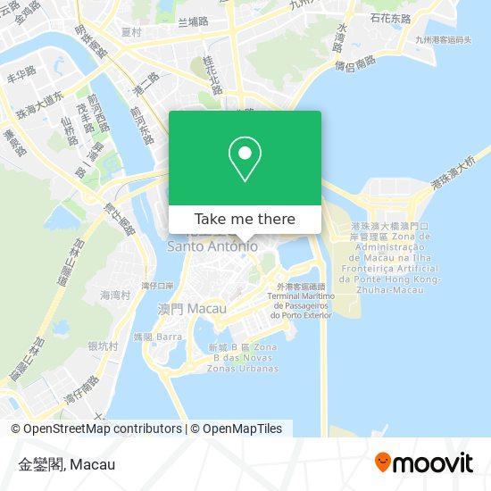 金鑾閣 map