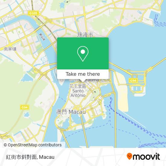 紅街市斜對面 map