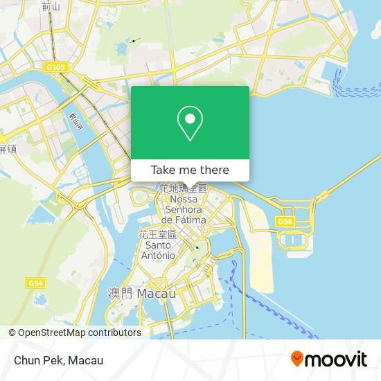 Chun Pek map