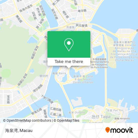 海泉湾 map