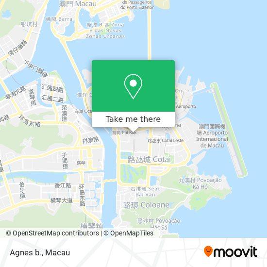Agnes b. map