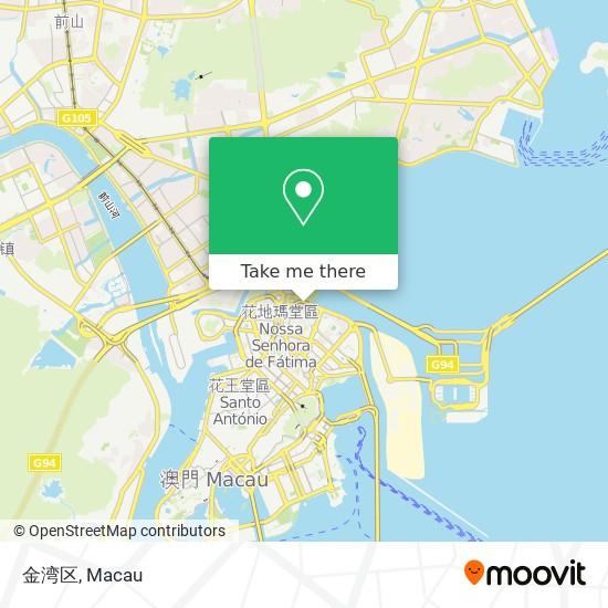 金湾区 map