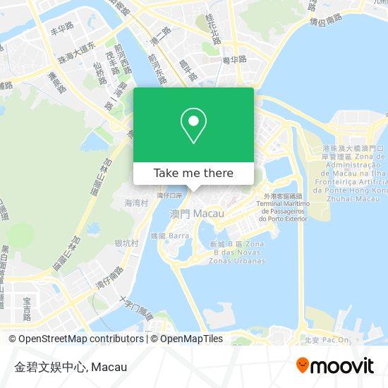 金碧文娱中心 map