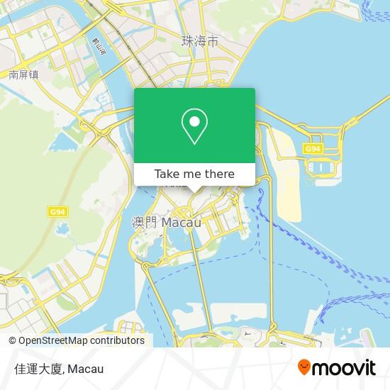佳運大廈 map