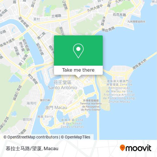 慕拉士马路/望厦 map