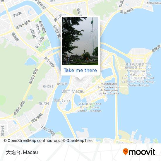 大炮台 map