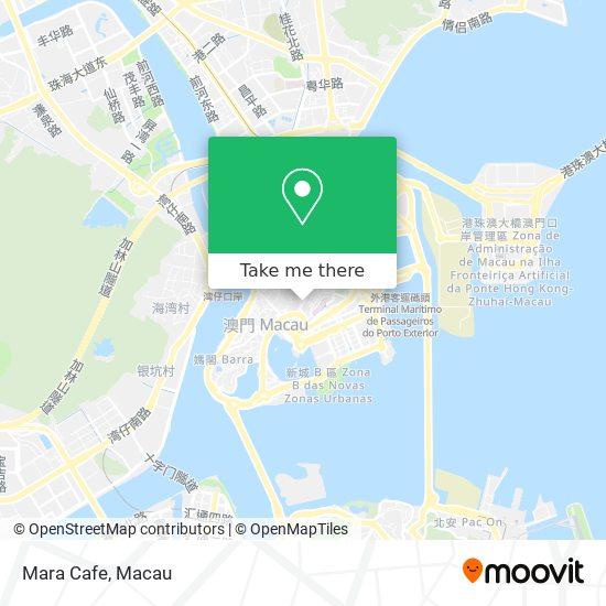 Mara Cafe map