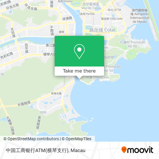 中国工商银行ATM(横琴支行) map