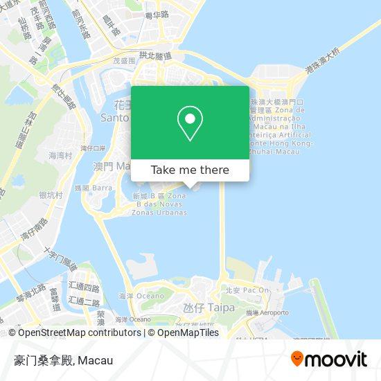 豪门桑拿殿 map