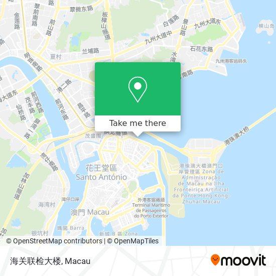 海关联检大楼 map