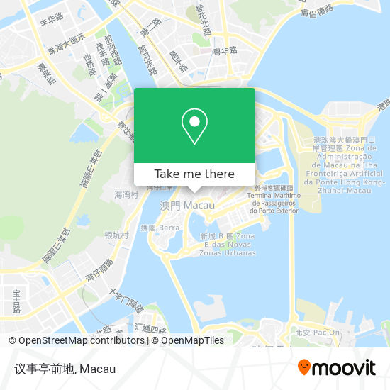 议事亭前地 map