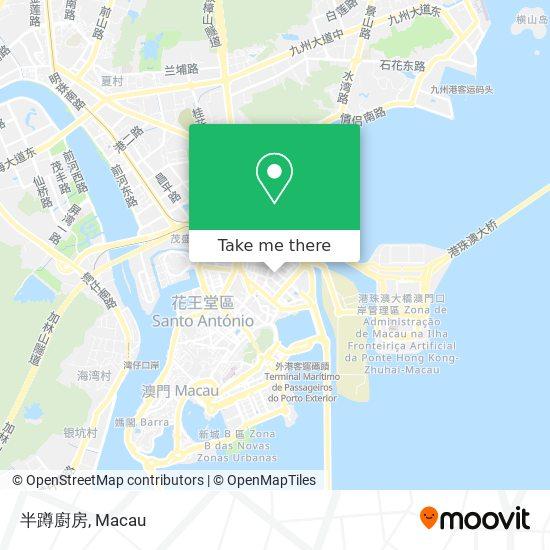半蹲廚房 map