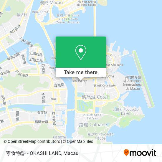 零食物語 - OKASHI LAND map