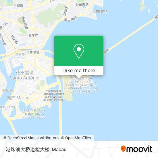 港珠澳大桥边检大楼 map
