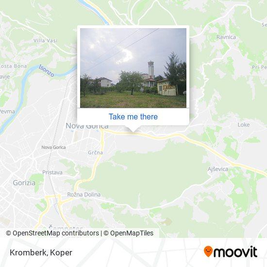 Kromberk map